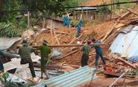 Hiện trường ngổn ngang vụ sạt lở vùi lấp 53 người ở Quảng Nam