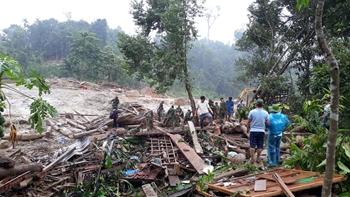 Xót xa hiện trường vụ sạt lở đất tại Quảng Nam khiến 52 người gặp nạn