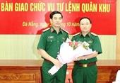 Cục trưởng Cục Tác chiến giữ chức vụ Tư lệnh Quân khu 5