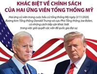 Khác biệt về chính sách của hai ứng viên Tổng thống Mỹ