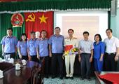 VKSND tỉnh Vĩnh Long công bố quyết định bổ nhiệm cán bộ lãnh đạo, quản lý VKSND cấp huyện