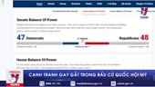 Cạnh tranh gay gắt trong bầu cử Quốc hội Mỹ