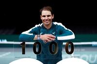 Nadal cán mốc 1000 chiến thắng trong sự nghiệp