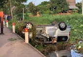 11 người Việt thương vong trong vụ tai nạn lật xe kinh hoàng ở Campuchia
