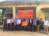 VKSND TP Cẩm Phả xây nhà Đại đoàn kết tặng người nghèo