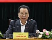 Trung ương đã phân công các đầu mối có trách nhiệm tổng hợp ý kiến đóng góp của Nhân dân