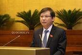Viện trưởng Lê Minh Trí báo cáo Quốc hội 5 nhóm nhiệm vụ liên quan đến trách nhiệm của VKSND