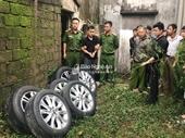 Bắt giữ đối tượng gây ra hàng loạt vụ trộm bánh xe ô tô ở Nghệ An