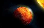 Hành tinh bao phủ đại dương dung nham hé lộ lịch sử nóng bỏng của Trái đất