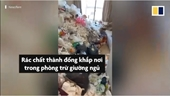 Người thuê nhà để lại căn hộ đầy rác ở Trung Quốc