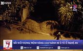 Bắt đối tượng trộm hàng loạt bánh xe ô tô ở Nghệ An