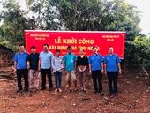 VKSND tỉnh Đắk Lắk phối hợp xây dựng nhà tình nghĩa tặng hộ nghèo