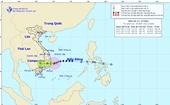Bão số 12 đã vào vùng biển Bình Định - Ninh Thuận, gió giật cấp 12