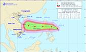 Lại xuất hiện cơn bão mới giật cấp 10 gần biển Đông