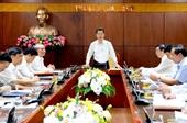 Bí thư Thành uỷ Đà Nẵng chủ trì phiên họp đầu tiên của Ban Thường vụ Thành ủy sau đại hội