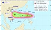 Bão Vamco tăng lên cấp 14, giật cấp 16, đang áp sát biển Đông