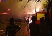 Xưởng sản xuất nến ở Đà Nẵng bùng cháy sau tiếng nổ lớn