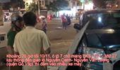 Ô tô 7 chỗ đâm nhiều xe máy làm 4 người bị thương nặng