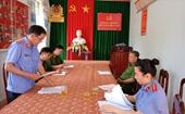 VKSND tỉnh Đắk Nông trực tiếp kiểm sát tại Cơ quan thi hành án hình sự
