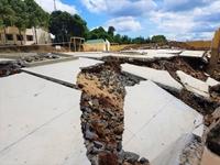 Tình tiết mới vụ công trình tiền tỉ tại trường học chưa nghiệm thu đã bị đổ sập, tan nát