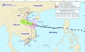 Bão số 13 đã vào vùng biển Hà Tĩnh - Thừa Thiên Huế, Trung Bộ mưa lớn
