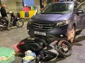 Tông người phụ nữ mang thai bất tỉnh, nữ tài xế điều khiển xe ô tô con bỏ chạy