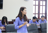 """Nghiên cứu khoa học """"Sân chơi"""" lý tưởng của sinh viên ĐH Kiểm sát Hà Nội"""