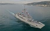 Tàu chiến Ai Cập rầm rộ tiến vào vùng biển Thổ Nhĩ Kỳ giữa lúc 2 nước căng thẳng