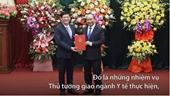 Thủ tướng giao nhiệm vụ cho tân Bộ trưởng Y tế