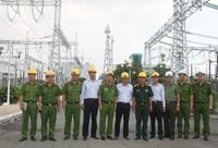 Ra mắt lực lượng Cảnh sát bảo vệ Trạm biến áp 500kV Phú Lâm