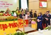 Danh sách Ban Chấp hành Đảng bộ tỉnh Bắc Kạn khóa XII nhiệm kỳ 2020-2025