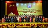 Danh sách Ban Chấp hành Đảng bộ tỉnh Cao Bằng khóa XIX, nhiệm kỳ 2020 - 2025