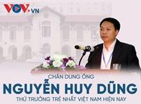 Chân dung ông Nguyễn Huy Dũng - Thứ trưởng trẻ nhất Việt Nam hiện nay