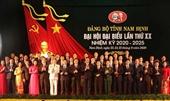 Danh sách Ban Chấp hành Đảng bộ tỉnh Nam Định ủy khóa XX, nhiệm kỳ 2020-2025