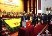 Danh sách Ban Chấp hành Đảng bộ tỉnh Lai Châu khóa XIV, nhiệm kỳ 2020 - 2025