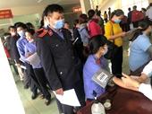 VKSND huyện Tuy Đức tham gia hiến máu nhân đạo