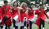 Sôi nổi cuộc thi nhảy Flashmob sinh viên Đại học Kiểm sát Hà Nội