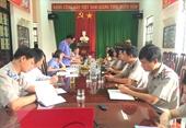 Trực tiếp kiểm sát việc tuân theo pháp luật tại Cục THADS tỉnh Đắk Nông