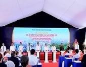 Thủ tướng Nguyễn Xuân Phúc bấm nút khởi công dự án gần 1 200 tỉ đồng ở Hải Phòng