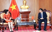 Lãnh đạo VKSND tối cao tiếp Đại sứ đặc mệnh toàn quyền Cộng hòa Cuba tại Việt Nam