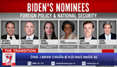 Ông J Biden chuẩn bị đội ngũ nhân sự