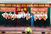 Phú Yên điều động, phân công, bổ nhiệm các chức danh cán bộ chủ chốt