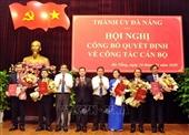 Đà Nẵng, Quảng Ninh công bố và trao các quyết định về công tác cán bộ
