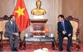 Phó Viện trưởng Nguyễn Quang Dũng tiếp Đoàn Bộ Ngoại giao Hoa Kỳ tại Việt Nam