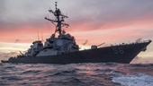 """Mỹ bác bỏ thông tin việc khu trục hạm John S McCain bị """"trục xuất"""" khỏi Vịnh Piotr Đại đế"""
