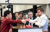 Lê Quang Liêm lần đầu tiên cầm hòa Vua cờ Carlsen