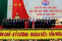 Danh sách Ban chấp hành Đảng bộ tỉnh Vĩnh Long khóa XI, nhiệm kỳ 2020- 2025