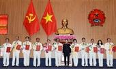 Hình ảnh 11 đồng chí được bổ nhiệm giữ chức danh Kiểm sát viên cao cấp