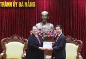 Bí thư Thành ủy Đà Nẵng tiếp và làm việc với Tổng lãnh sự Hoa Kỳ tại TP Hồ Chí Minh