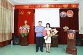 VKSND huyện Điện Biên có tân nữ Viện trưởng
